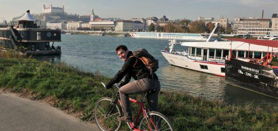 Identita Bratislavy na bicykli