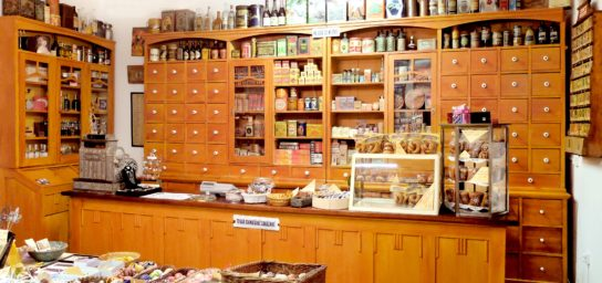 Shop in the museum