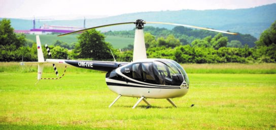 Sightseeing helicopter flights
