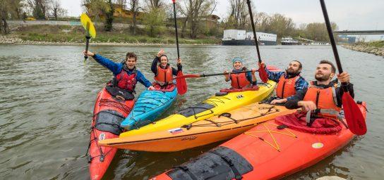 Bratislava Kayak Trip